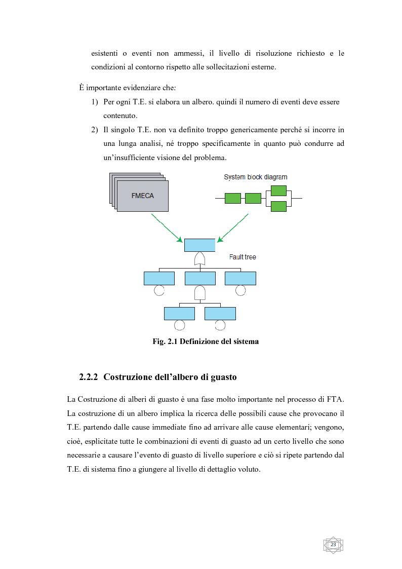 Anteprima della tesi: Risoluzione integrata di alberi di guasto, Pagina 5