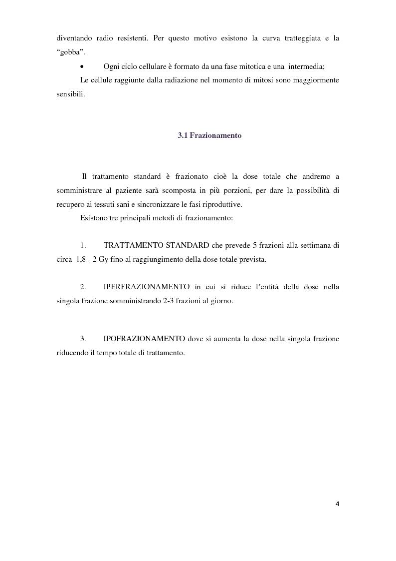 Anteprima della tesi: Tecniche di radioterapia stereotassica - Aggiornamenti tecnici, Pagina 5