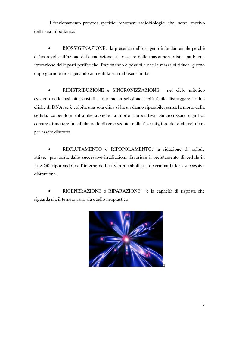 Anteprima della tesi: Tecniche di radioterapia stereotassica - Aggiornamenti tecnici, Pagina 6