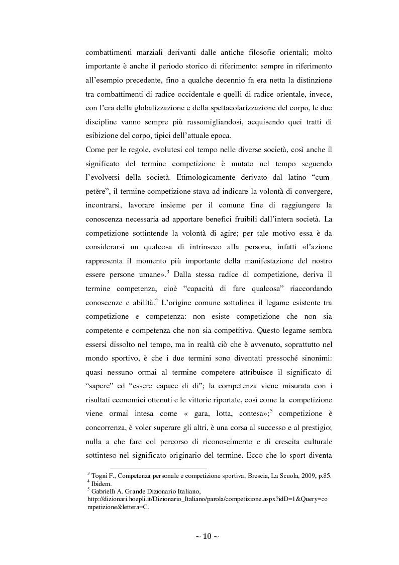 Anteprima della tesi: Lo sport: mezzo privilegiato nell'integrazione sociale del diversamente abile. Un'indagine esplorativa, Pagina 6
