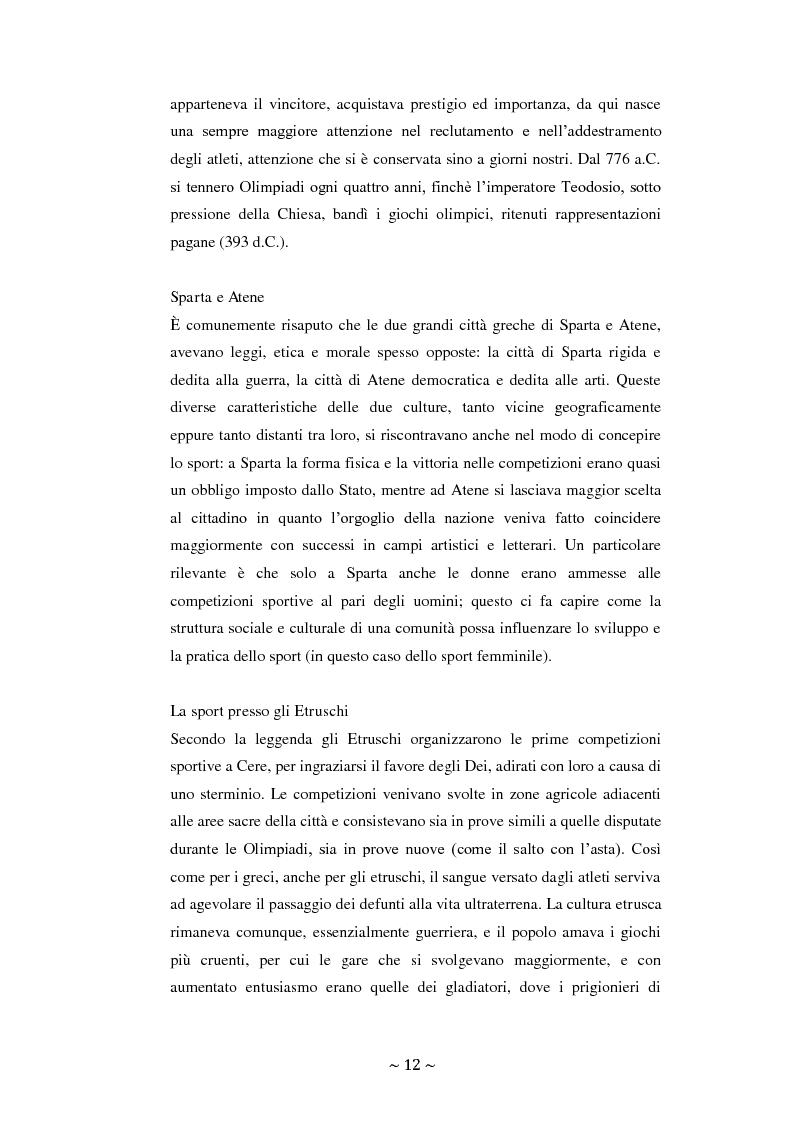 Anteprima della tesi: Lo sport: mezzo privilegiato nell'integrazione sociale del diversamente abile. Un'indagine esplorativa, Pagina 8