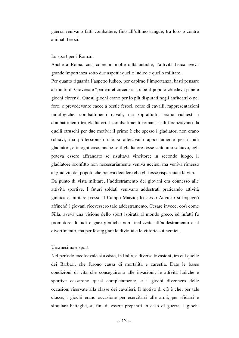 Anteprima della tesi: Lo sport: mezzo privilegiato nell'integrazione sociale del diversamente abile. Un'indagine esplorativa, Pagina 9