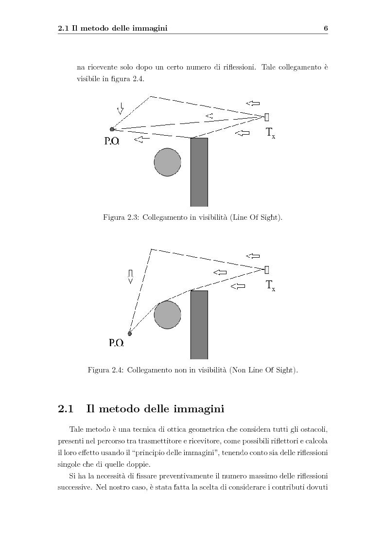 Anteprima della tesi: Ottimizzazione della radiocopertura in ambienti interni, Pagina 7