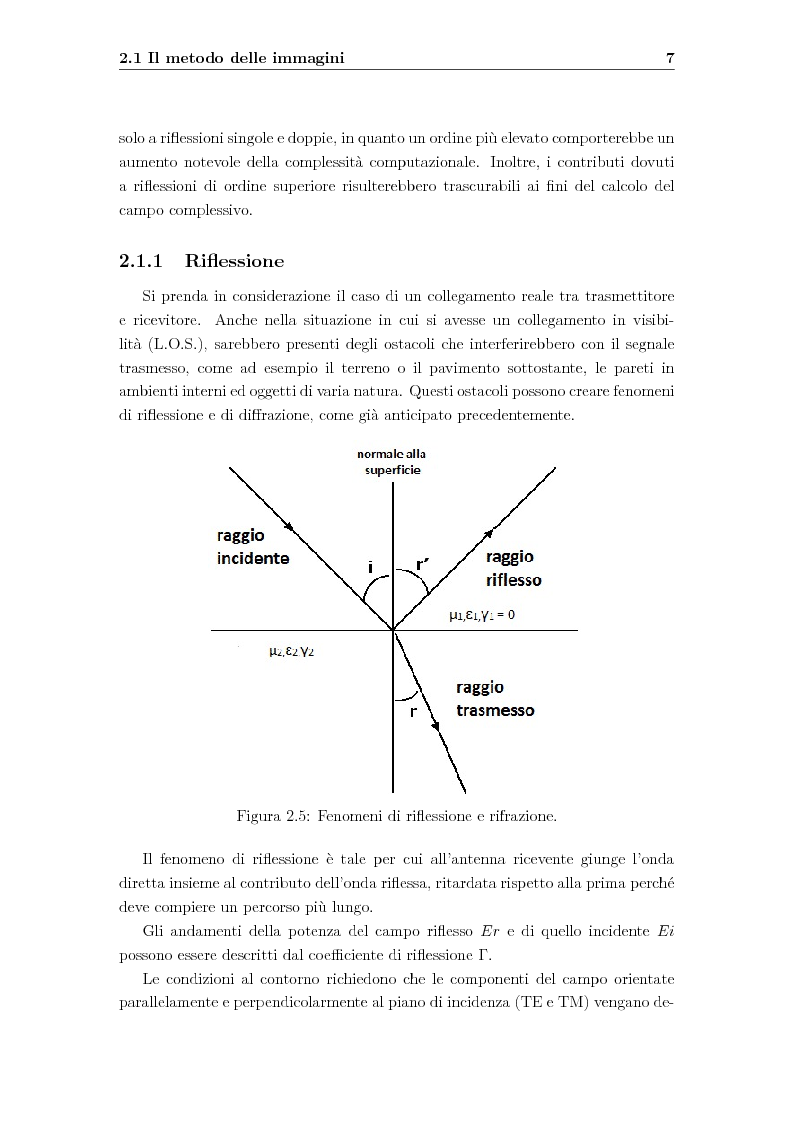 Anteprima della tesi: Ottimizzazione della radiocopertura in ambienti interni, Pagina 8