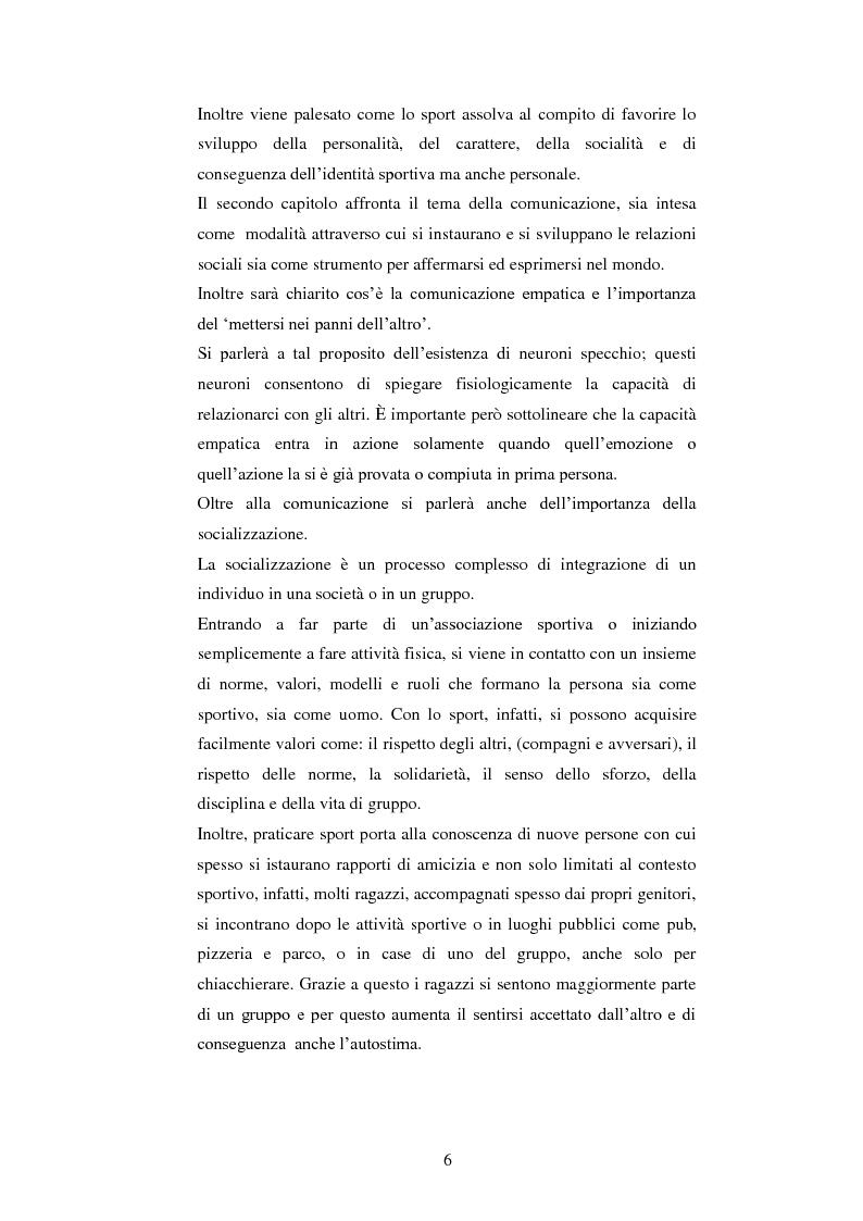 Anteprima della tesi: Comunicazione e disabilità. La pratica motoria come strumento di relazione, Pagina 3