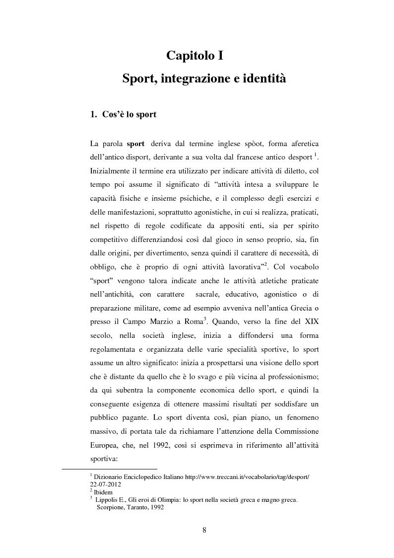 Anteprima della tesi: Comunicazione e disabilità. La pratica motoria come strumento di relazione, Pagina 5