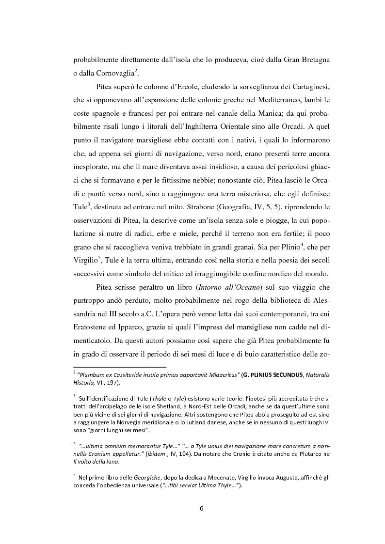Anteprima della tesi: Il persistere del mito polare nel romanzo ''Al Polo Australe in velocipede'' di E. Salgari, Pagina 3