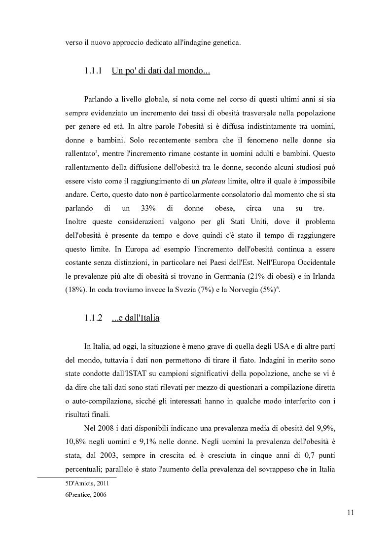 Anteprima della tesi: Sovrappeso e obesità: implicazioni etiche, Pagina 9