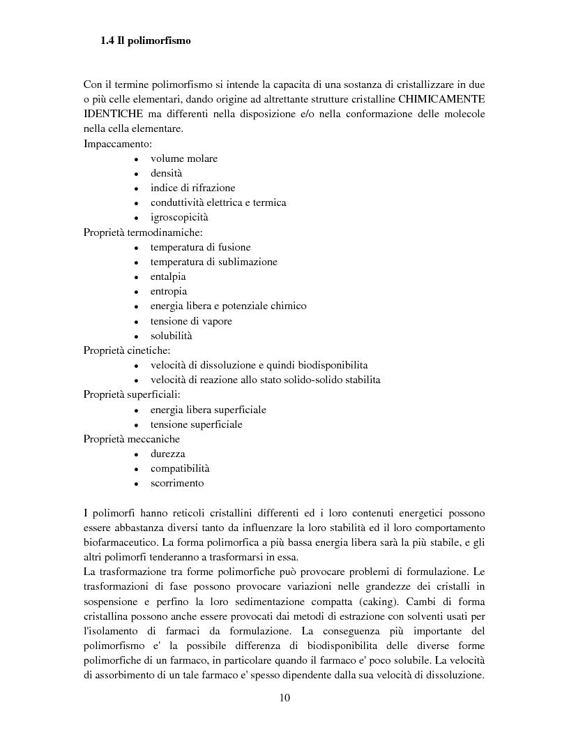 Anteprima della tesi: Caratterizzazione della struttura cristallina di carbamazepina  nei prodotti farmaceutici che operano nel mercato Albanese, Pagina 5