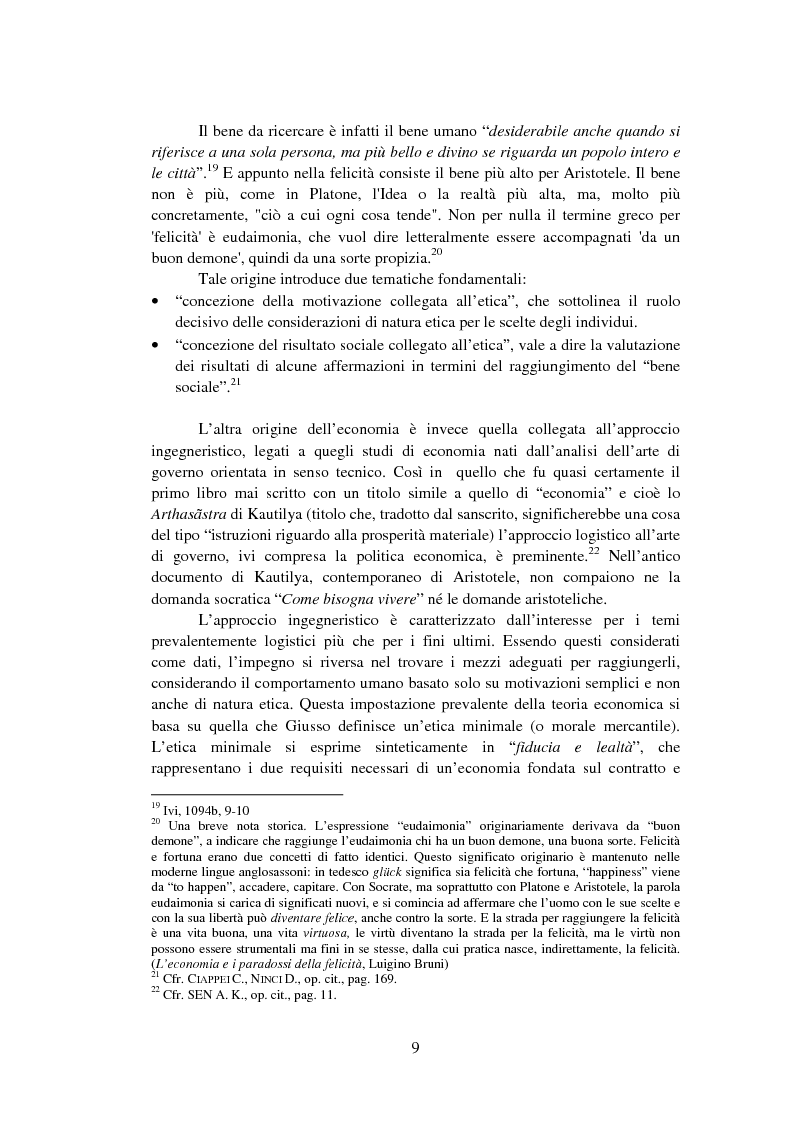 Anteprima della tesi: La Finanza Etica. Il Caso Etica Sgr e il Rating Etico: Sabaf S.P.A., Pagina 10