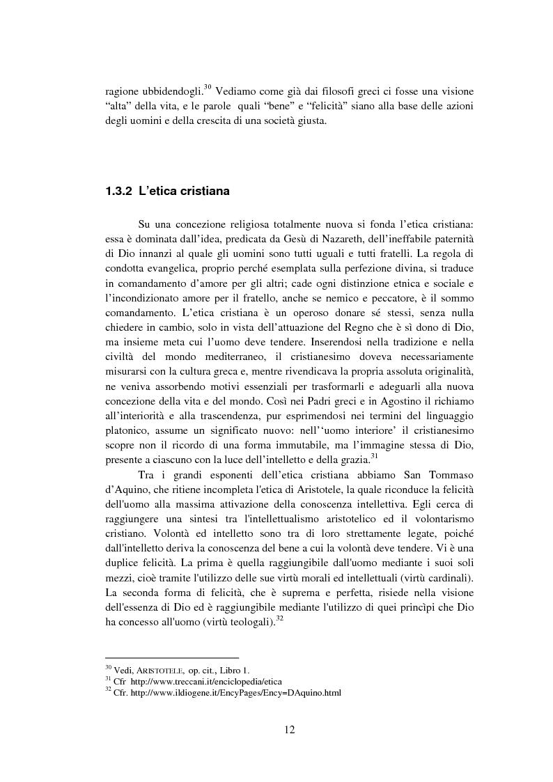 Anteprima della tesi: La Finanza Etica. Il Caso Etica Sgr e il Rating Etico: Sabaf S.P.A., Pagina 13
