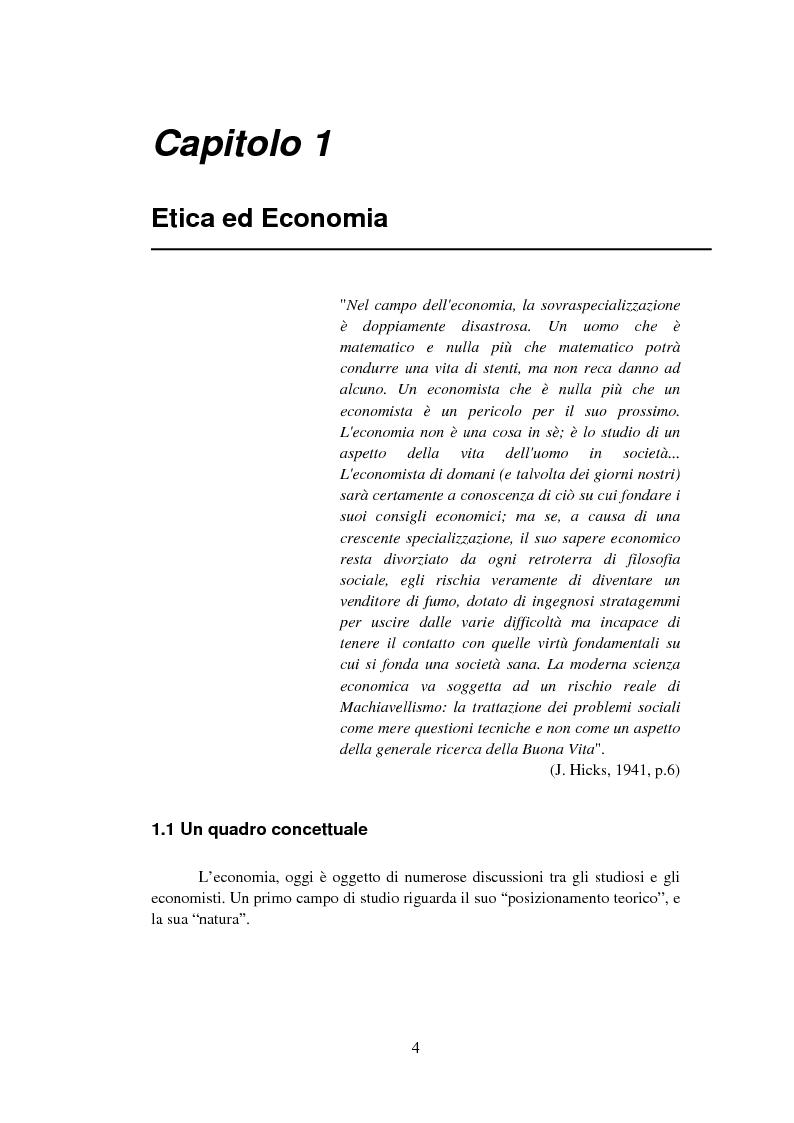 Anteprima della tesi: La Finanza Etica. Il Caso Etica Sgr e il Rating Etico: Sabaf S.P.A., Pagina 5
