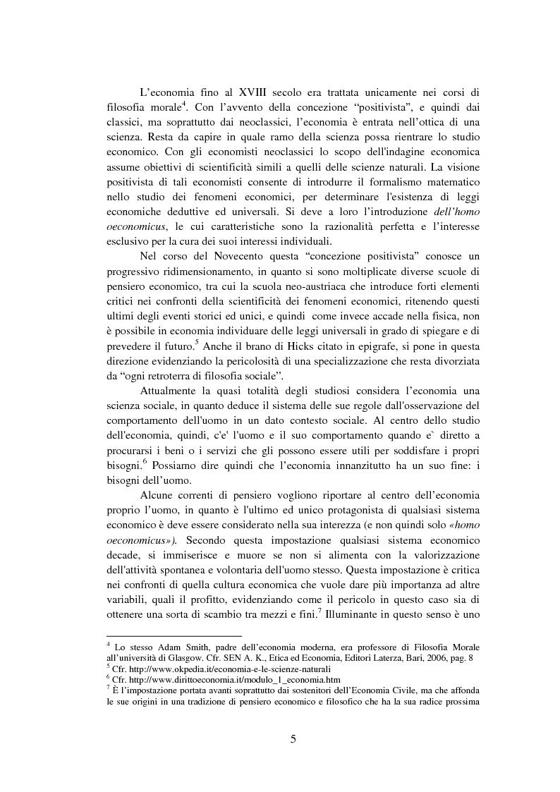 Anteprima della tesi: La Finanza Etica. Il Caso Etica Sgr e il Rating Etico: Sabaf S.P.A., Pagina 6