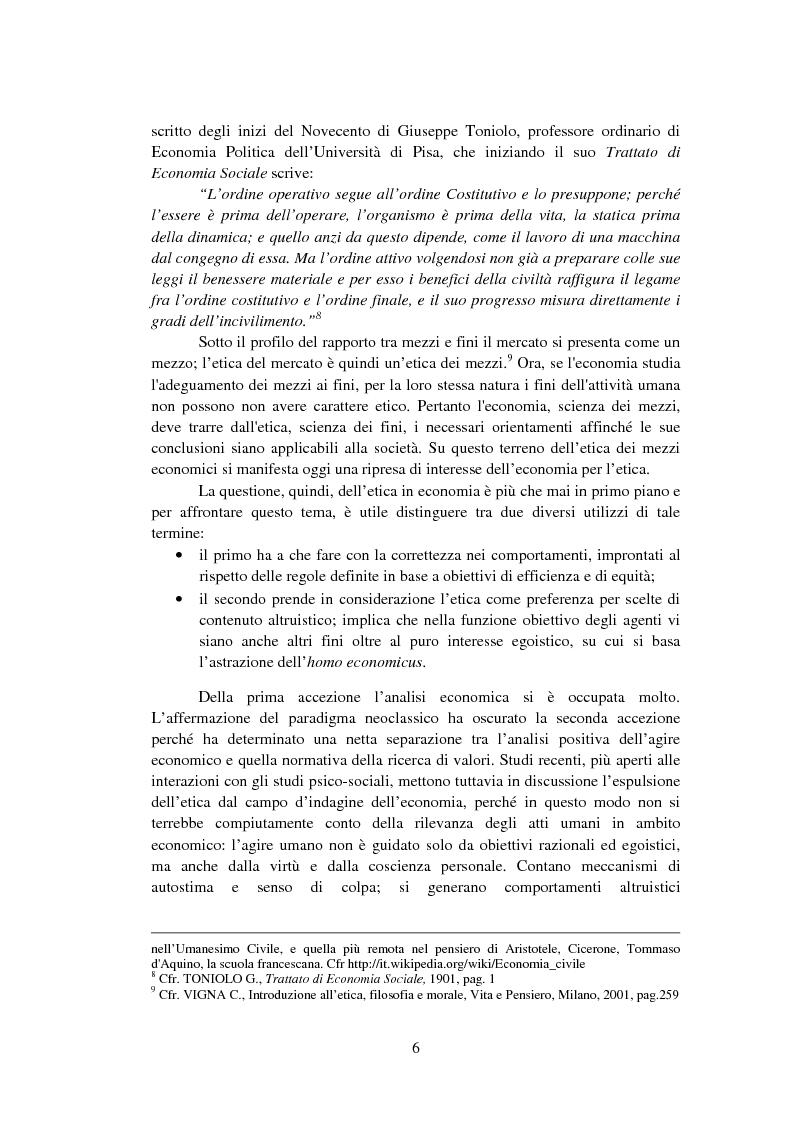 Anteprima della tesi: La Finanza Etica. Il Caso Etica Sgr e il Rating Etico: Sabaf S.P.A., Pagina 7