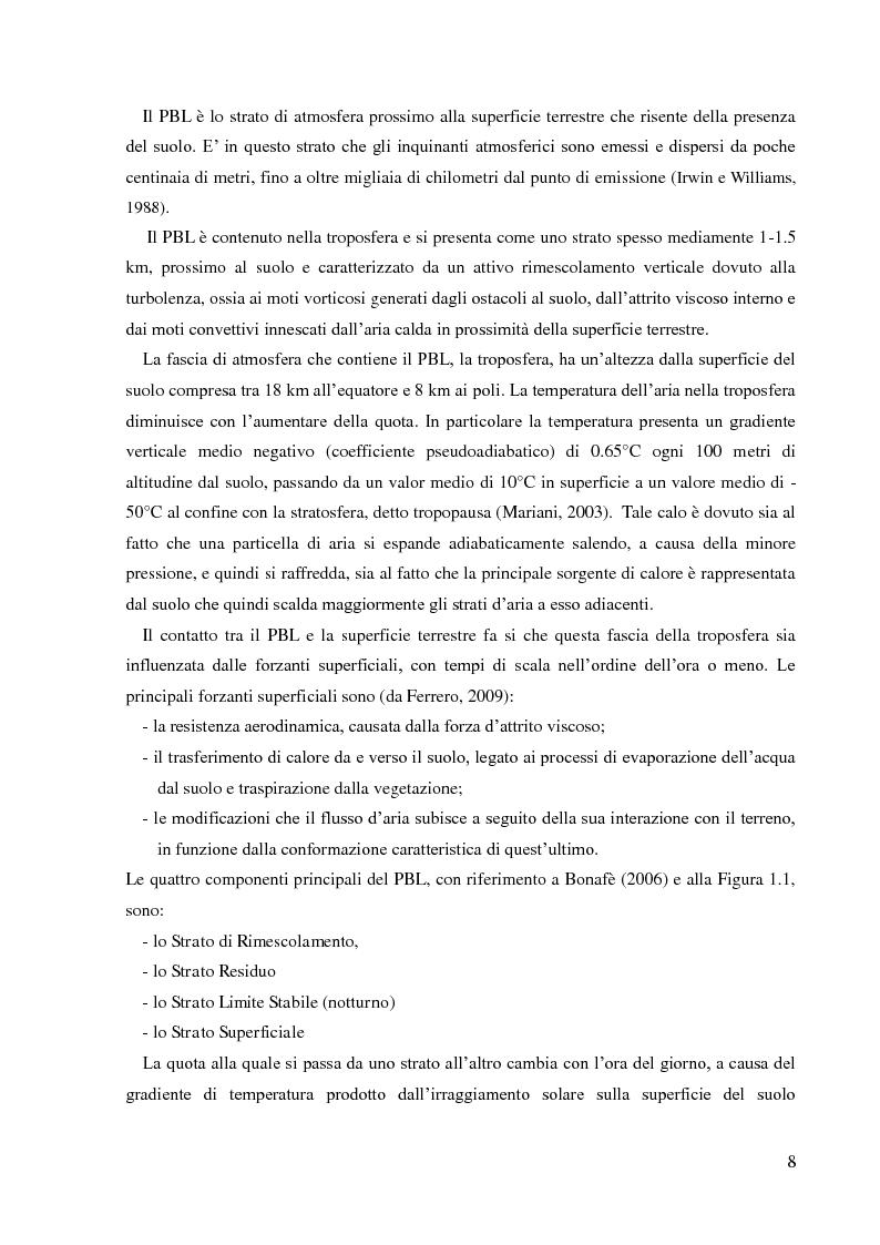 Anteprima della tesi: Emissioni di NH3 a seguito della distribuzione di liquame: valutazione delle strategie di mitigazione, Pagina 5