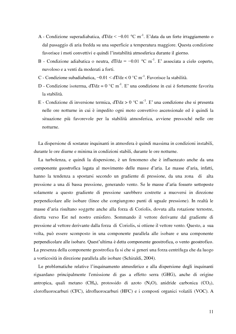 Anteprima della tesi: Emissioni di NH3 a seguito della distribuzione di liquame: valutazione delle strategie di mitigazione, Pagina 8