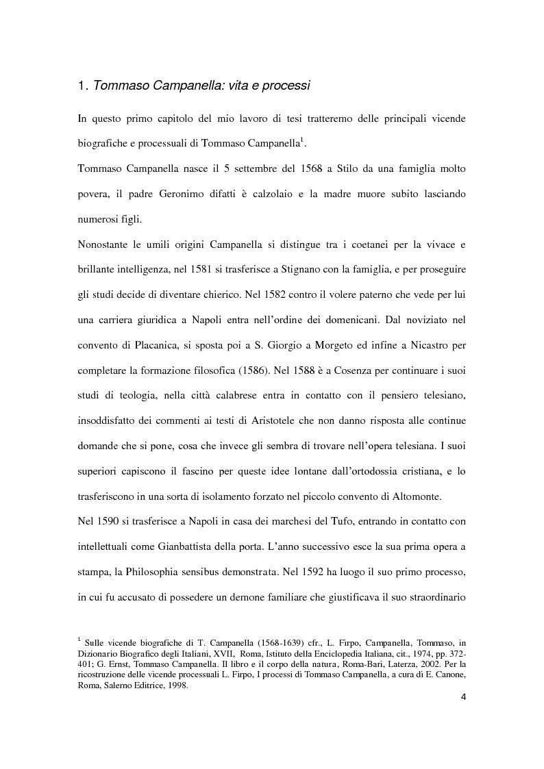 Anteprima della tesi: Machiavellismo e antimachiavellismo nel pensiero di Campanella, Pagina 3