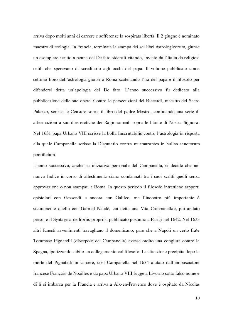 Anteprima della tesi: Machiavellismo e antimachiavellismo nel pensiero di Campanella, Pagina 9