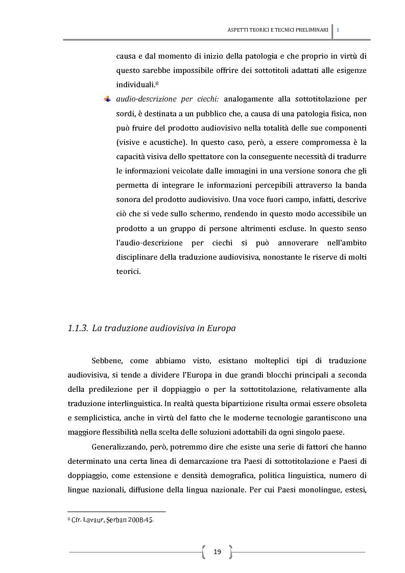 Anteprima della tesi: La sottotitolazione intralinguistica in tempo reale per sordi. Analisi comparativa tra Italia e Francia., Pagina 10