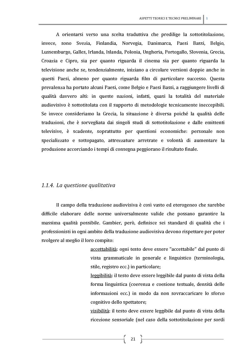 Anteprima della tesi: La sottotitolazione intralinguistica in tempo reale per sordi. Analisi comparativa tra Italia e Francia., Pagina 12