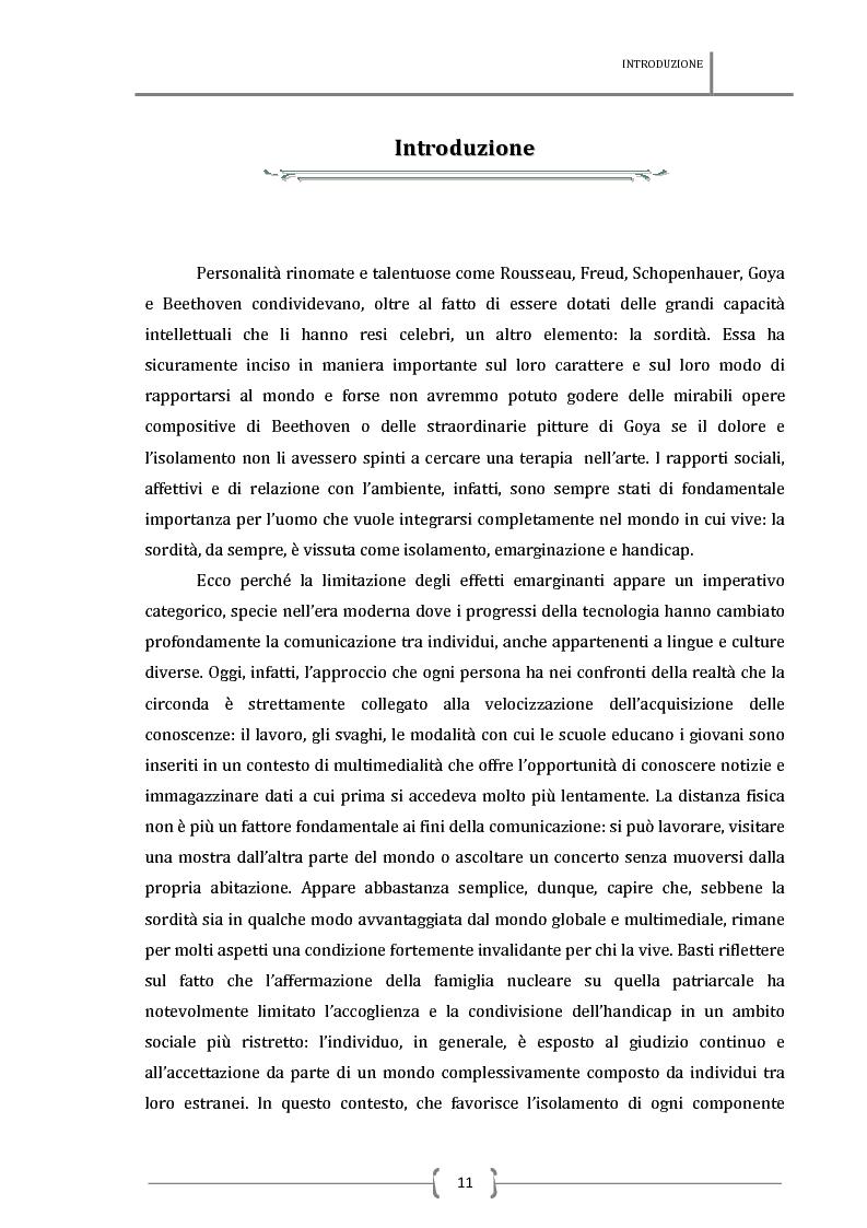Anteprima della tesi: La sottotitolazione intralinguistica in tempo reale per sordi. Analisi comparativa tra Italia e Francia., Pagina 2