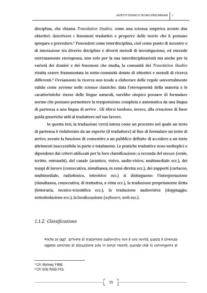 Anteprima della tesi: La sottotitolazione intralinguistica in tempo reale per sordi. Analisi comparativa tra Italia e Francia., Pagina 6
