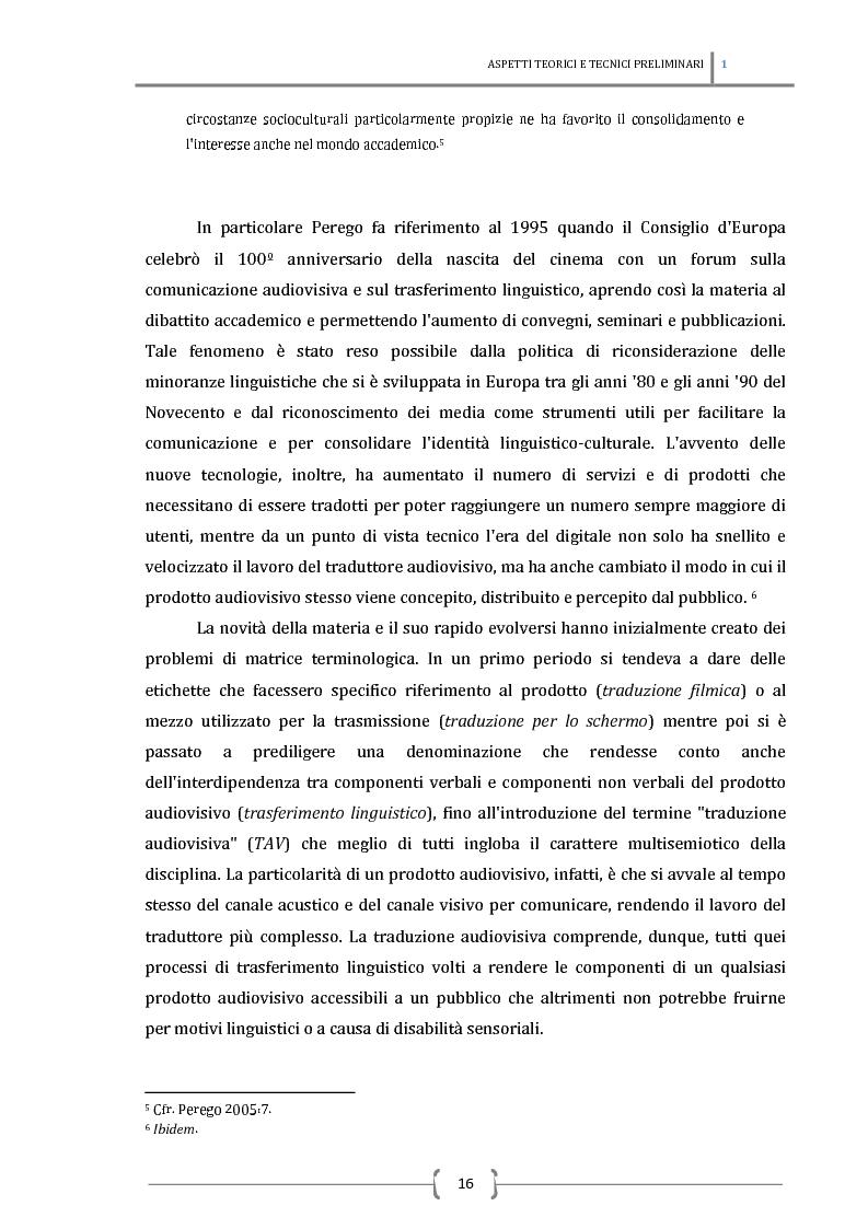 Anteprima della tesi: La sottotitolazione intralinguistica in tempo reale per sordi. Analisi comparativa tra Italia e Francia., Pagina 7