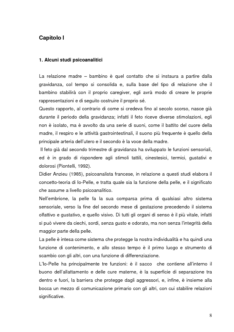 Anteprima della tesi: La relazione prenatale e il suo universo musicale, Pagina 5