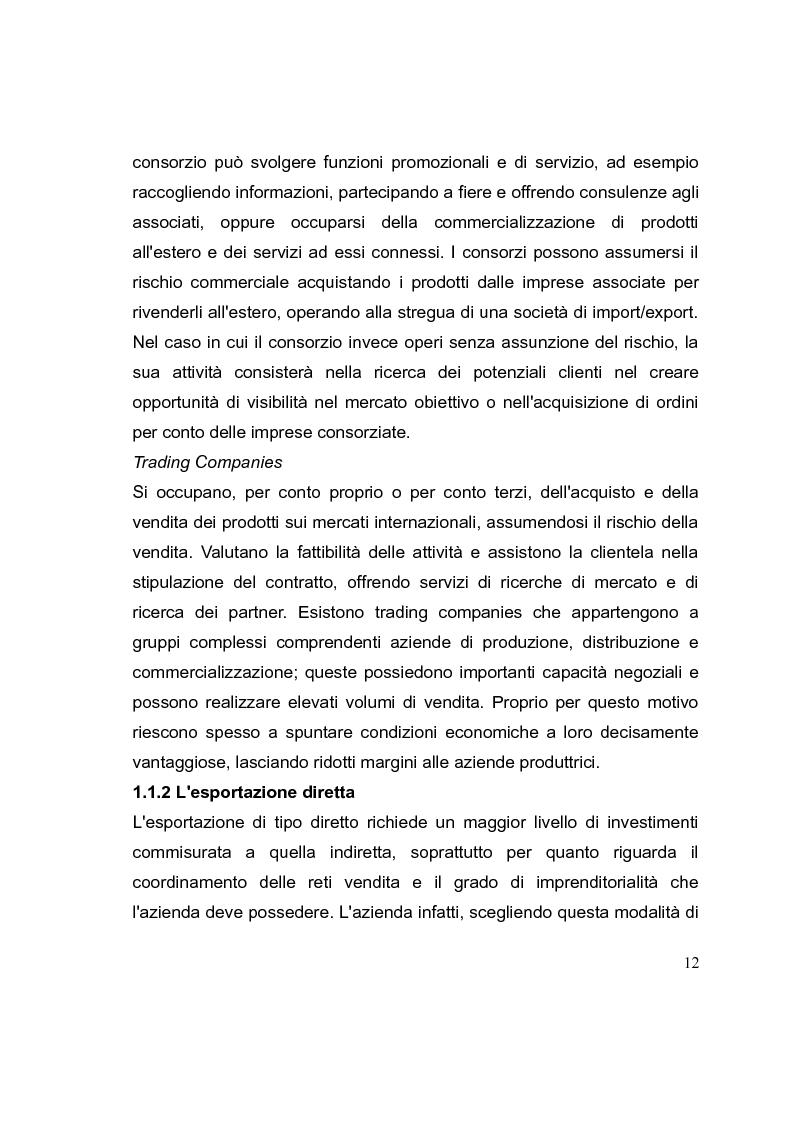 Anteprima della tesi: La competizione cinese: modalità di ingresso e strategie di crescita per le PMI italiane nel paese del dragone. Alcune esperienze del Made in Italy, Pagina 12