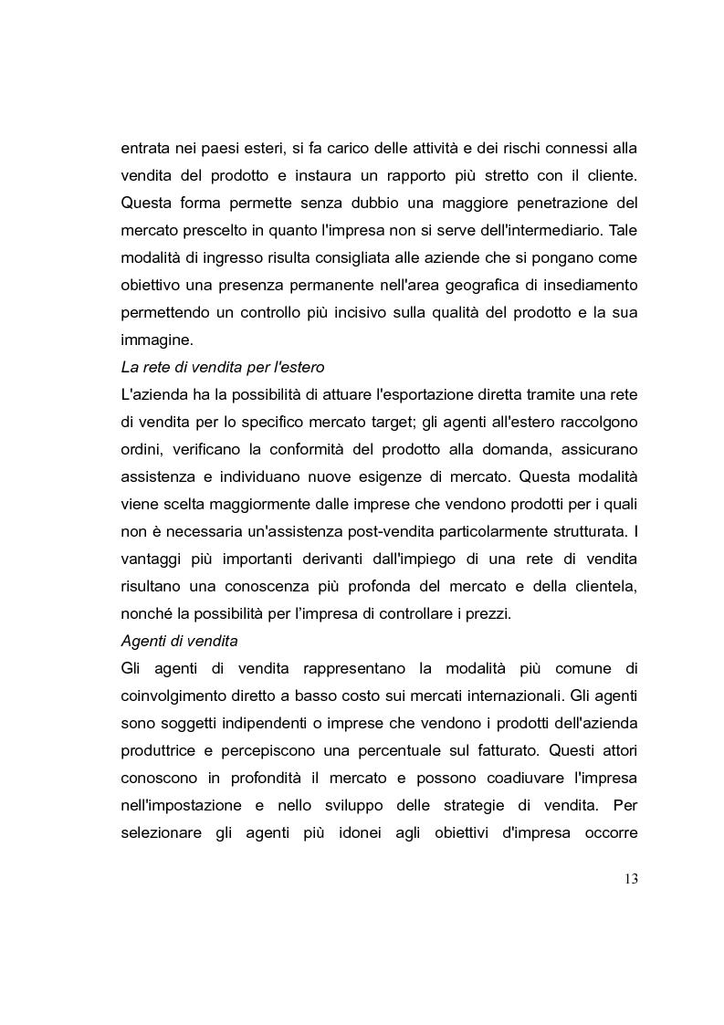 Anteprima della tesi: La competizione cinese: modalità di ingresso e strategie di crescita per le PMI italiane nel paese del dragone. Alcune esperienze del Made in Italy, Pagina 13