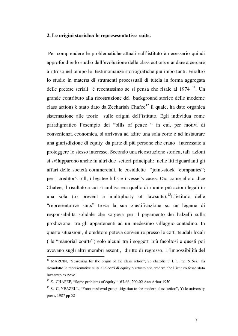 Anteprima della tesi: L'azione collettiva risarcitoria e restitutoria: profili comparatistici, Pagina 4