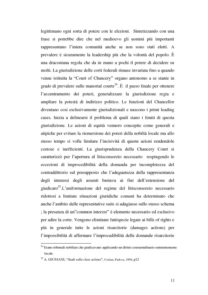 Anteprima della tesi: L'azione collettiva risarcitoria e restitutoria: profili comparatistici, Pagina 8