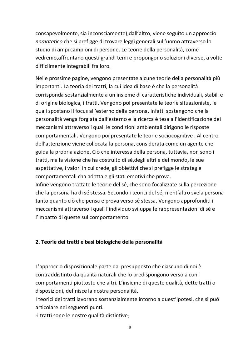 Anteprima della tesi: Personalità e aggressività nella prestazione sportiva: uno studio sperimentale, Pagina 7