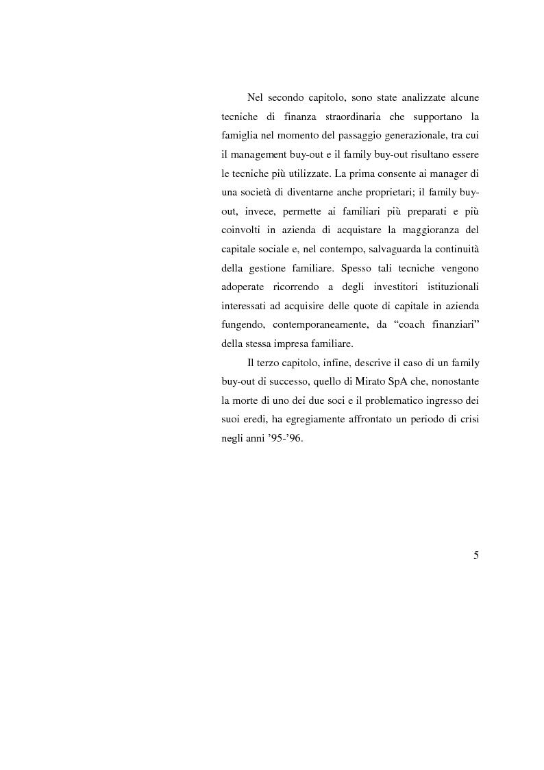 Anteprima della tesi: Le operazioni straordinarie nei processi di ricambio generazionale, Pagina 3