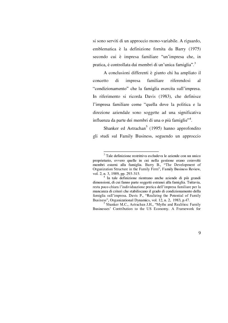 Anteprima della tesi: Le operazioni straordinarie nei processi di ricambio generazionale, Pagina 7