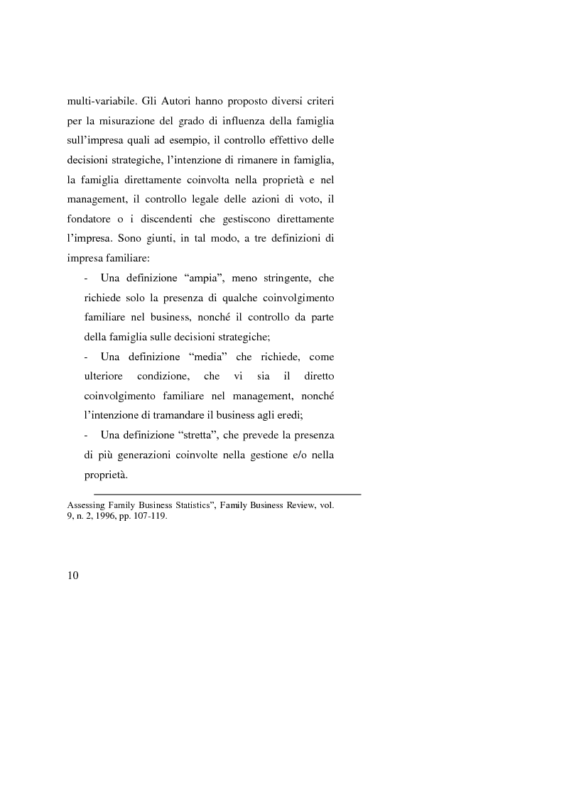 Anteprima della tesi: Le operazioni straordinarie nei processi di ricambio generazionale, Pagina 8
