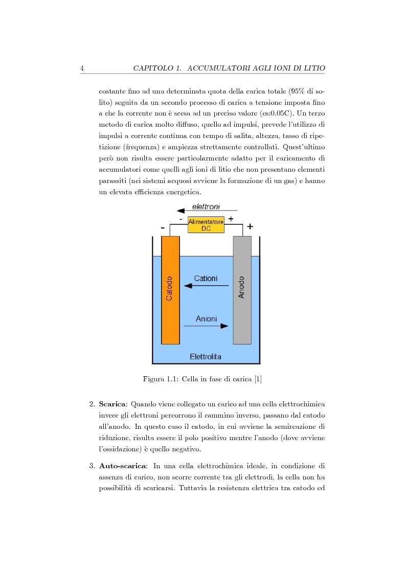 Anteprima della tesi: Studio, progetto e realizzazione di un sistema multicanale per caratterizzazione di celle agli ioni di litio, Pagina 5