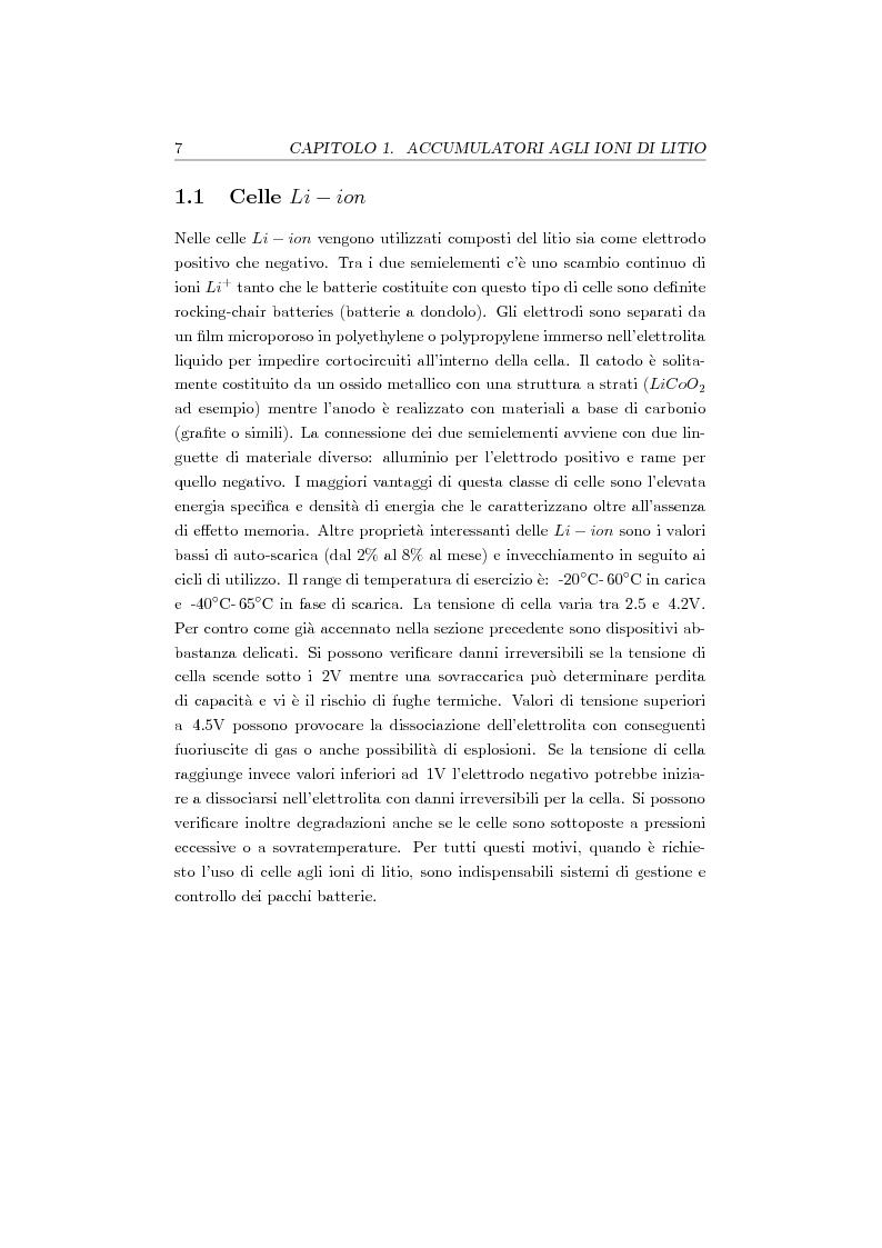 Anteprima della tesi: Studio, progetto e realizzazione di un sistema multicanale per caratterizzazione di celle agli ioni di litio, Pagina 8