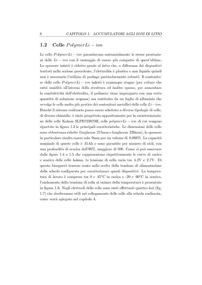 Anteprima della tesi: Studio, progetto e realizzazione di un sistema multicanale per caratterizzazione di celle agli ioni di litio, Pagina 9
