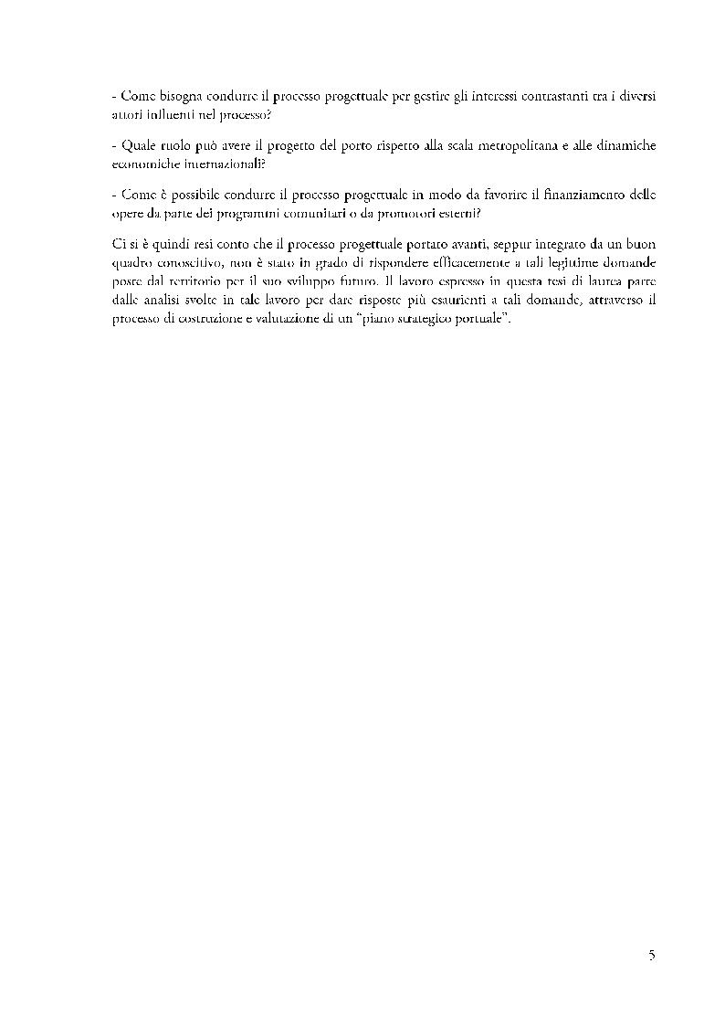 Anteprima della tesi: Piano strategico e valutazione, una proposta per la marina di Cascais, Pagina 4