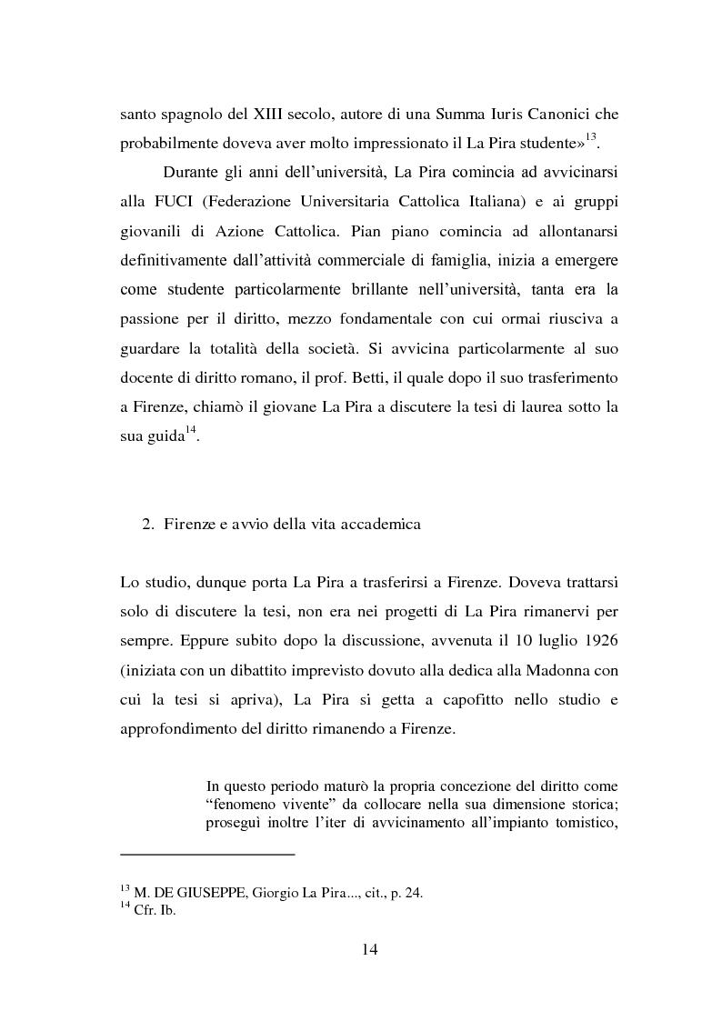 Anteprima della tesi: La visione della persona umana nel pensiero di Giorgio La Pira, Pagina 13