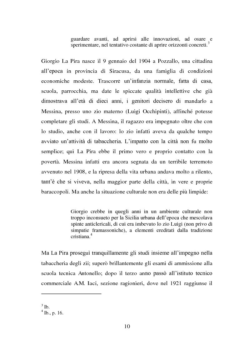 Anteprima della tesi: La visione della persona umana nel pensiero di Giorgio La Pira, Pagina 9