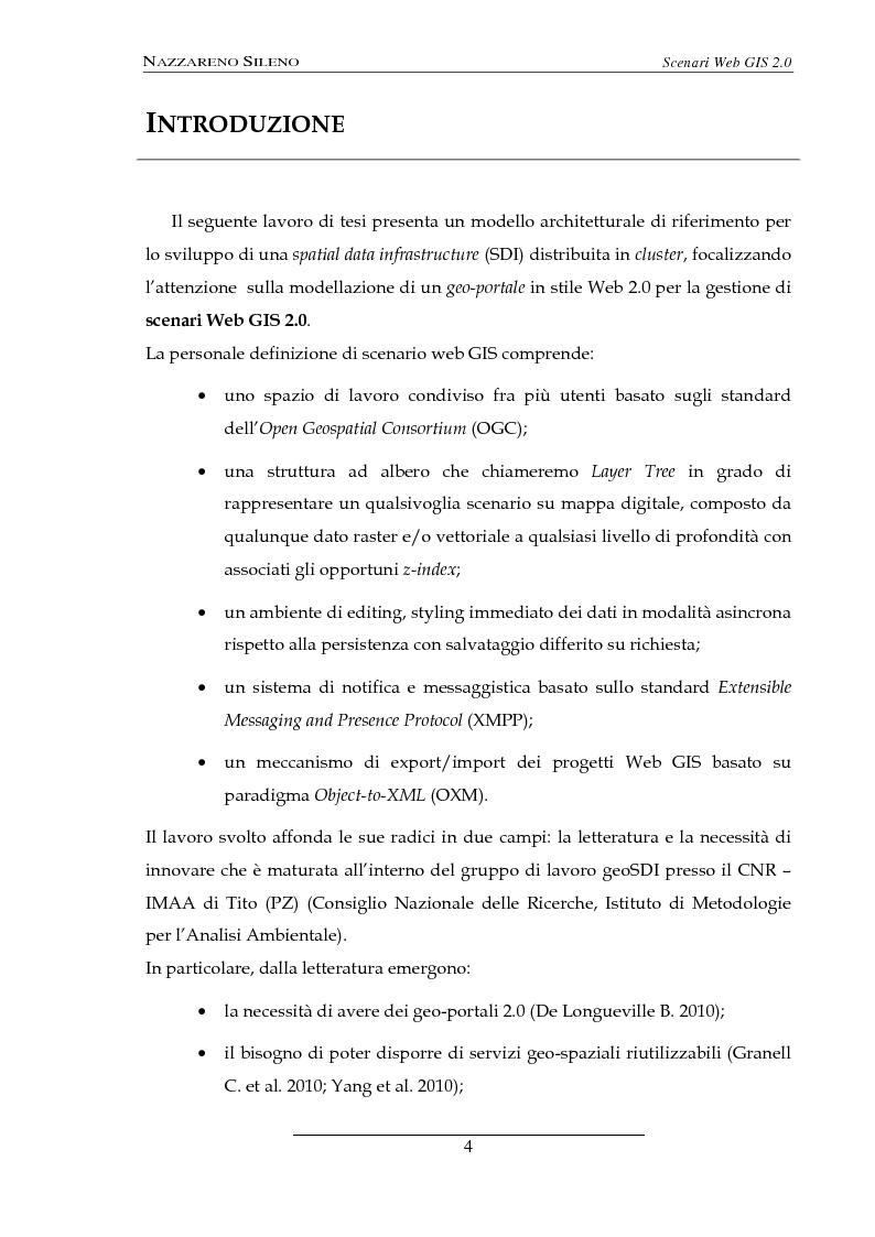 Anteprima della tesi: Scenari web GIS 2.0, Pagina 2