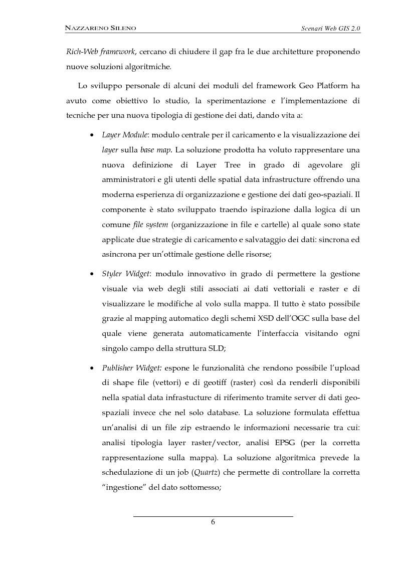 Anteprima della tesi: Scenari web GIS 2.0, Pagina 4