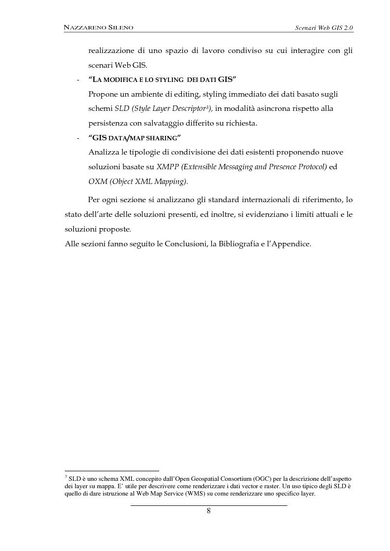 Anteprima della tesi: Scenari web GIS 2.0, Pagina 6