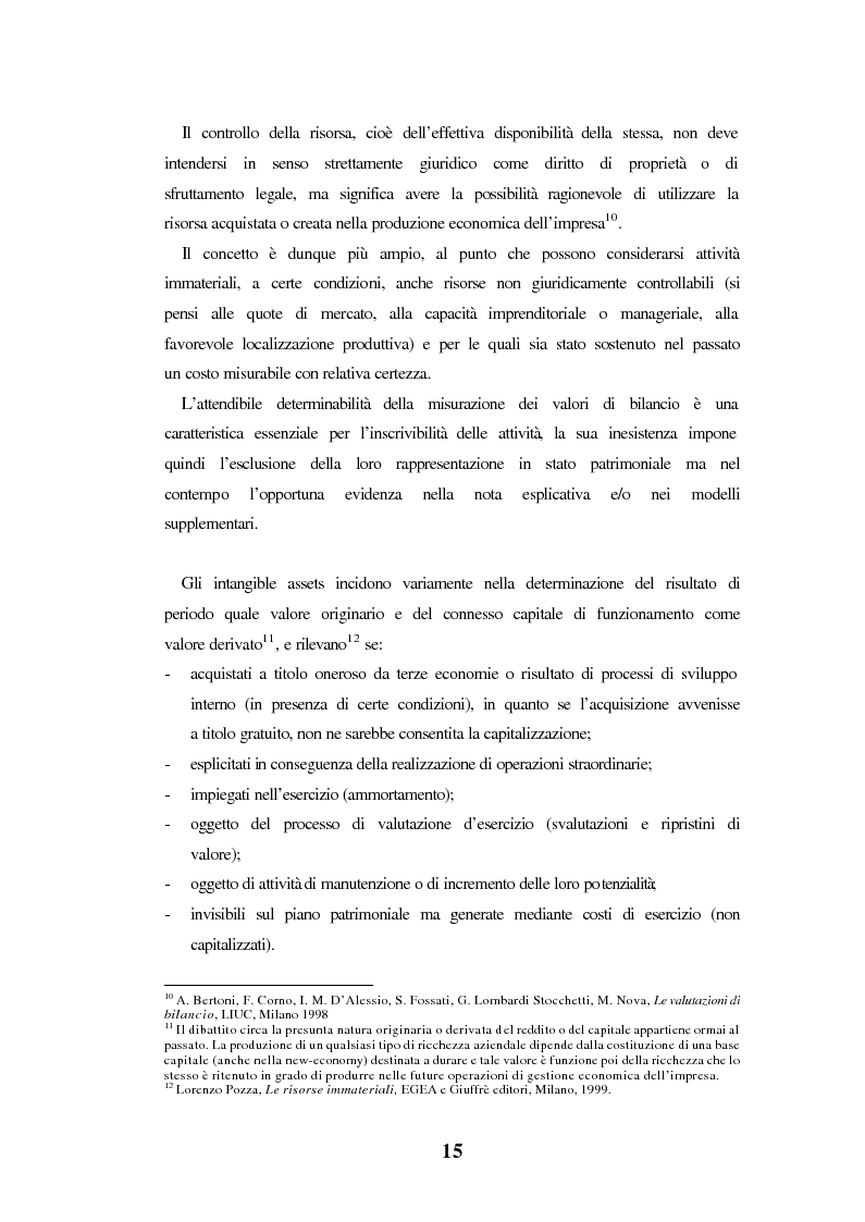 Anteprima della tesi: Le spese di pubblicità nel capitale di funzionamento. Rilevanza nel bilancio delle società in Internet. Il caso Yahoo!Inc., Pagina 9
