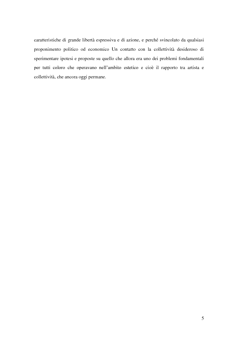 Anteprima della tesi: Arte pubblica, intorno a Campo Urbano, Pagina 5