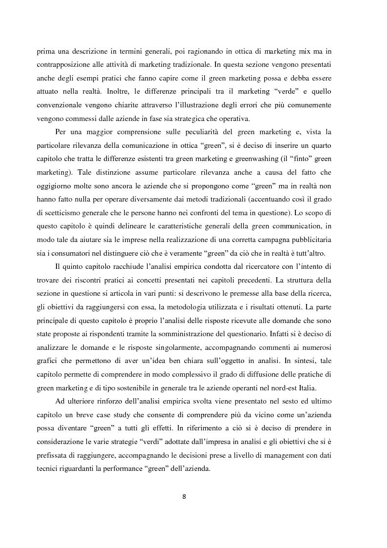 """Anteprima della tesi: Tra green economy e blue economy: analisi teorica ed empirica sulla diffusione del green marketing e delle pratiche """"verdi"""" in generale, Pagina 5"""
