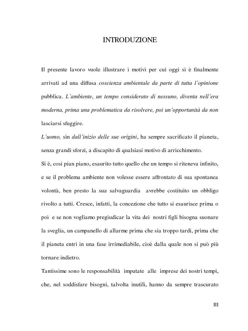 Anteprima della tesi: La Responsabilità sociale delle imprese e le certificazioni ambientali: Iso 14001, Pagina 2