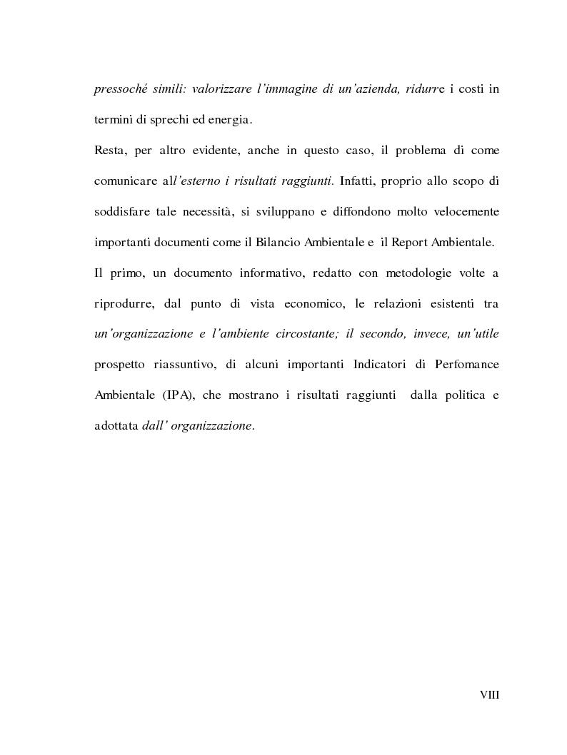 Anteprima della tesi: La Responsabilità sociale delle imprese e le certificazioni ambientali: Iso 14001, Pagina 7